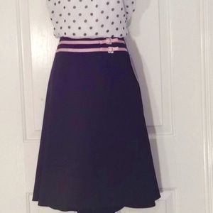 My Michelle skirt w/pink bling buckles NWT 11/12